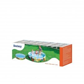 BESTWAY RIGID WALL PADDLING SWIMMING POOL