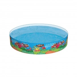 BESTWAY RIGID WALL PADDLING SWIMMING POOL 1.83M*0.38M