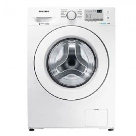 SAMSUNG Washer Front Load 9 KG 1400 RPM White Eco Bubble